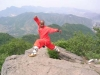 Master Micky On The Top Of The Sanghan Mountain, Sholin Demonstrating Sholin Quan