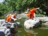 Shaolin Monks In Frog And Scorpio Form