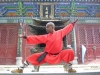 Shifu Micky (India) Demonstrating Shaolin Boxing in side Shaoline Temple